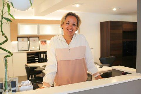 Tilbakela et godt 2018: Butikken til Marie Føre Lindorff (37) gikk for første gang i millionoverskudd i året som var.