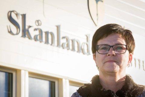 Ordfører i Skånland, Helene Berg Nilsen. Arkivfoto: Ragnar Bøifot