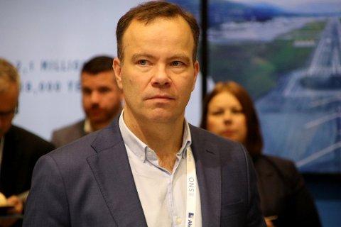 OVERRASKET: Tomas Norvoll, fylkesrådsleder i Nordland, sier seg overrasket over at verken bytunnel eller Ofotbanen var med i veivesenets høringsuttalelse til NTP.