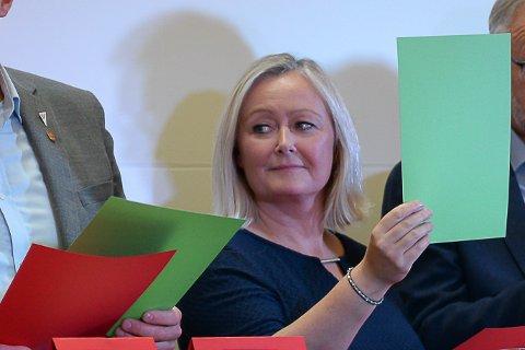 GRUPPELEDER: Lørdag ble Mona Nilsen fra Narvik valgt som ny gruppeleder for Arbeiderpartiet til fylkestinget i Nordland.