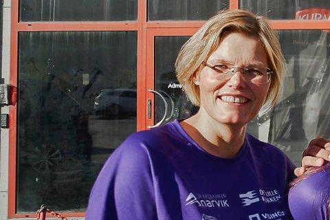 MAMMA: Anneline Vassbakk Løyning er mamma til Ingeborg.