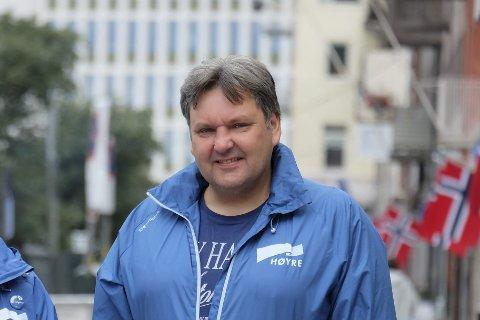 IMOT: Jonny Finstad, stortingsrepresentant fra Nordland, mener partifellene i Oslo Høyre bommer når de vedtar at Lofoten, Vesterålen og Senja skal vernes mot petroleumsvirksomhet. Bildet er tatt ved en tidligere anledning.