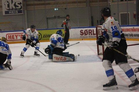 JAKTER SPILLERE: Narvik Hockey er på jakt etter to nye spillere og trenerhjelp.