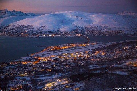 VIL TIL TROMSØ: Flygerutdanningen ved UiT får ikke plass ved Tromsø Lufthavn. Foto: Yngve Olsen