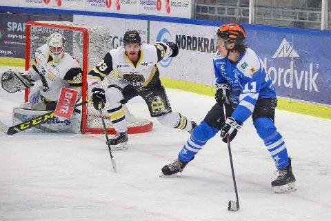 SESONG OVER: Narvik hockey skal ikke spille flere kamper i sesongen. Nå avgjør forbundet klubbens videre skjebne.