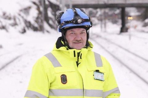 Prosjektleder Tor Gunnar Pedersen i Bane Nor.
