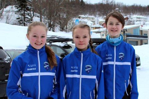 Mot strømmen: Tre blad Landsem: Søsknene Aurora (15), Ellinor (11) og Jakob (13) fra Håkvik går alle for Ankenes skiklubb. Og litt mot strømmen. De har gått fra lagidrett og fotball til individuell idrett. På landbasis sørger dårlige snøvintrer for dårlig rekruttering til nasjonalsporten. Mange unge dropper ski til fordel for ballidretter, men Landsem-trioen har gått motsatt vei.
