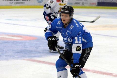 LÅNES UT: Jørgen Eide Engstrøm drar til Haugesund på lån fra Narvik hockey.