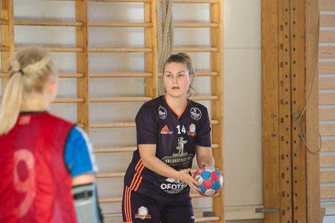 NOR HK: Jannike Erlid og laget må vinne med minst fire mål på søndag.