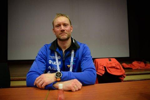 Preget: Kommune- og rennlege, Sverre Håkon Evju, var lei for at mesterskapet endte allerede onsdag, men er trygg på at avgjørelsen er riktig.