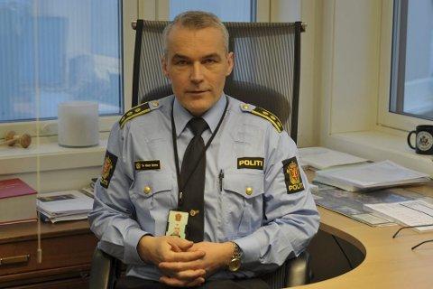 Politiinspektør Tor Håvard Bentzen er blant de ni søkerne.
