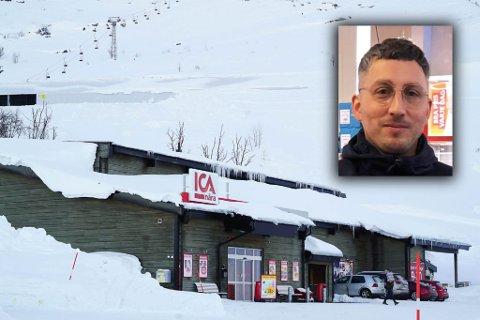 Mistet kundene: Petter Nilsson og Ica riksgrensen har mistet nesten 90 prosent av kundebasen etter grensenrestriksjonene som trådte i kraft tirsdag.