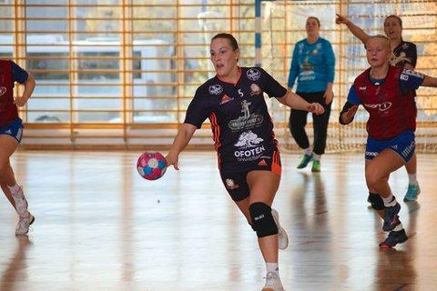 HÅPER PÅ JANUAR: Ingrid Nilssen Neverdal er glad om det blir seriekamper i januar 2021.