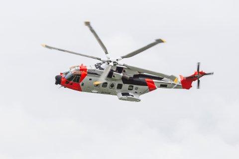 – Det er så voldsom vind fra rotorene, at de vil kunne påføre bygget skade, forklarer prosjektleder i UNN HF, Viggo Søderblom om de nye redningshelikoptrene AW101 som skal ta over etter Sea King.