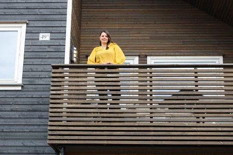 HJEMME: Annika Østli Rubach kommer til å holde barna hjemme fra skolen uansett hva.