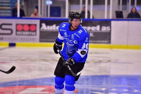 FERDIG: Tan Hellerød skal ikke spille for Narvik hockey i Fjordkraft-ligaen mer.