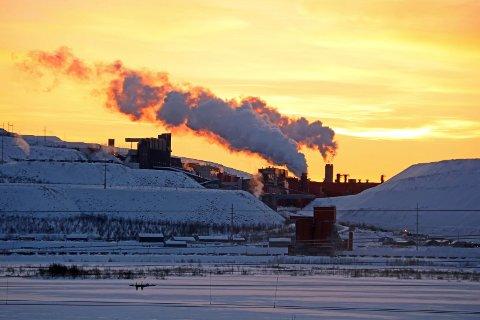 TIDENES STØRSTE: Skjelvet 18. mai var det største noensinne i gruvene i Kiruna. Arkivfoto.