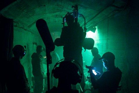 ACTION: Halve filmen er innspilt når opptakene til «Kampen om Narvik»  avsluttes i Oslo om kort tid. Neste år setter de kursen nordover.