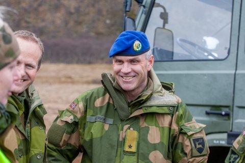 Brigadesjef, brigader Lars Lervik, er en av søkerne til stillingen som sjef for Hæren.