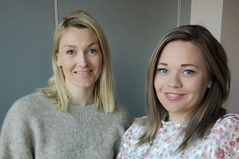 June Berg-Sollund og Lise Janita Hansen i Visit Narvik.
