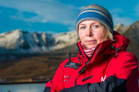 ERFAREN: I over 20 år har Karin Strand (48) fra Jølster reist og utforsket polområdene, både som ansatt i Hurtigruten og privat.