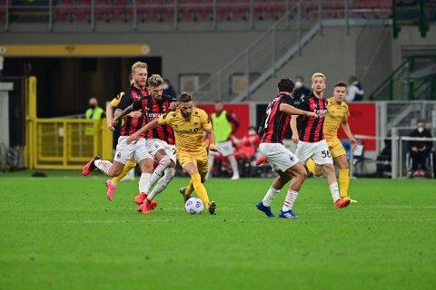 SPRAKK: Bodø/Glimt endte sitt Europa-eventyr mot AC Milan.
