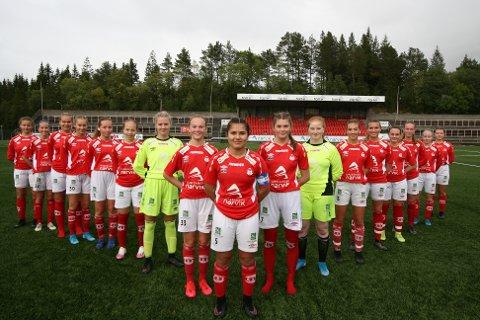 ER VIKTIG: Jente og damefotball er viktig for Mjølner. Det er både klubben selv og hovedsamarbeidspartner enig om.