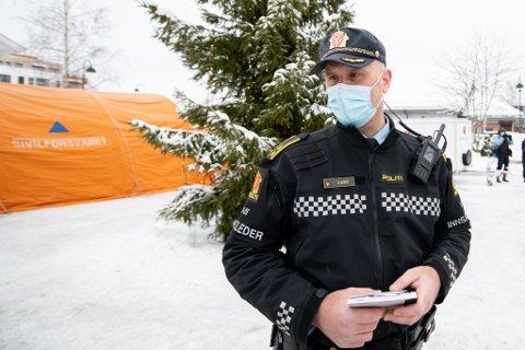 PERSONLIG DRAMA: Innsatsleder Roy Alkvist i politiet bor selv i Gjerdrum og kjenner noen av de savnede etter skredkatastrofen.