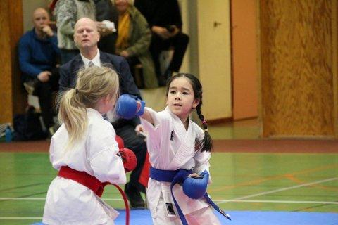 RASERT KLUBB: Leder Tor-Arne Jenssen, sittende bak, innser at Narvik karateklubb er rasert og må gjenreises.