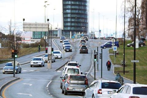 E6 Narvik sentrum:  Forsering av en bytunnel forbi Narvik senbtrum er blant de tingene den nye regjeringen bør prioriterem mener NHO Nordland og regiondirektør Daniel Bjarmann-Simonsen.