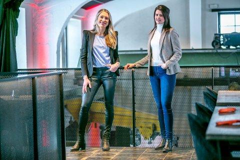 SATSER: Ingrid Dahl Skarstein og Heidi Andreassen, bosatt i Tromsø, satser med eget selskap - i en helt fersk industri i Norge.