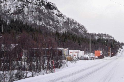 TESTSTASJONEN ved E10 Bjørnfjell holdes i drift over sommeren.