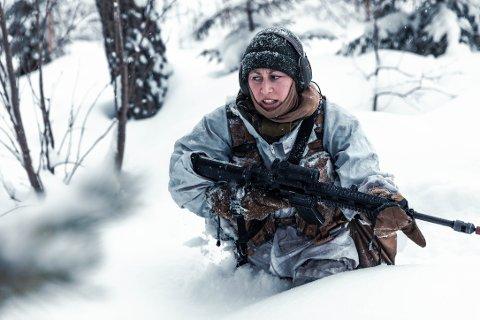 NY SERIE: 113-skaperne skal nå innta militærleiren i indre Troms.