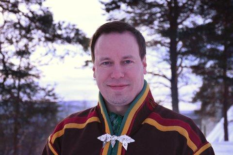 Sametingsrådets politiske rådgiver Eirik Larsen