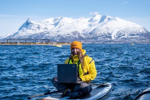 NYANSATT: Narvik-selskapet Nor Maritime Service AS (NORMS) går så det suser, og doblet omsetningen fra 2019 til 2020. Nå har de ansatt tre nye, og ene av de er Trine Mosling- Elvebakk (36). Hun skal blant annet jobbe som prosjektleder.