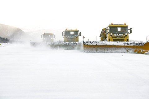 DOBLER ANTALL ANSATTE: Avinor som fra før har 41 ansatte vil nær doble antall ansatte fra kommende vinter.