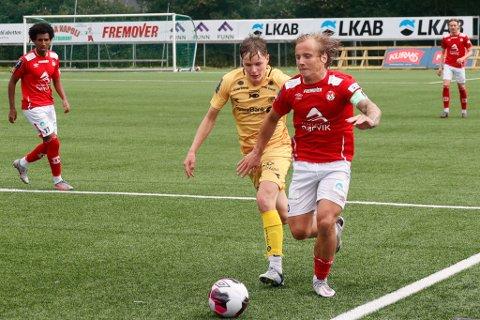 HAR FÅTT STRAFFEN:  Mathias Nicolaisen, Mjølner-kaptein.