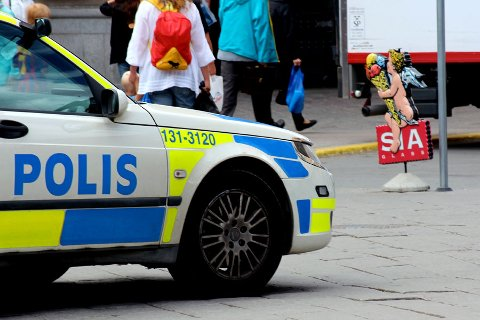ER BEKYMRET: Svensk politi ser tegn på at også Nord-Sverige får sine utfordringer med gjengkriminalitet. Illustrasjonsfoto