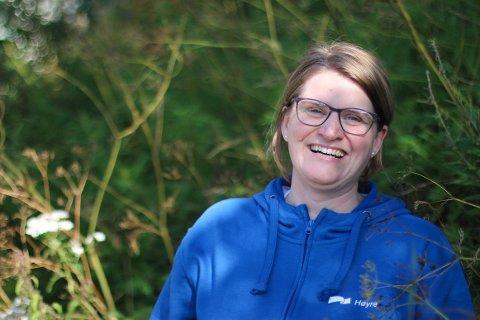 OPTIMIST: Marianne Dobak Kvensjø håper å representere Høyre på Stortinget etter valget.
