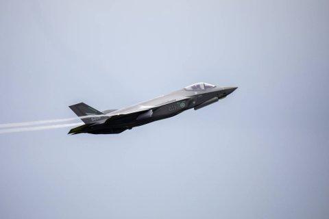 ØVELSE: Fra onsdag og tre uker fremover  lander F-35 på Evenes flystasjon for å delta i øvelse Falcon Deploy. Forsvaret advarer om at det vil bli en del flystøy i forbindelse med denne øvelsen.