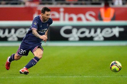STJERNE: Lionel Messi på PSG er den største stjernen i Ligue 1 som nå kan sees via fremover.no.