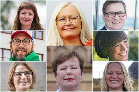 Listekandidatene har svart på hva de mener om ulike temaer.