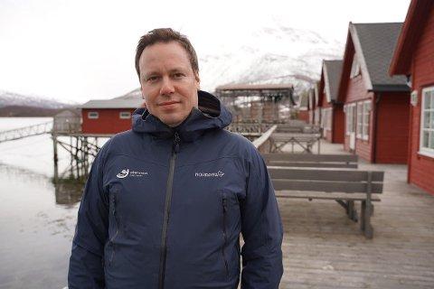 GIR STØTTE: Sametinget støtter søknaden om alpin-VM i Narvik. Her ved sametingsrådets politiske rådgiver Eirik Larsen.
