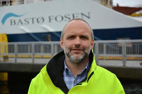Direktør i Bastø Fosen, Øyvind Lund.