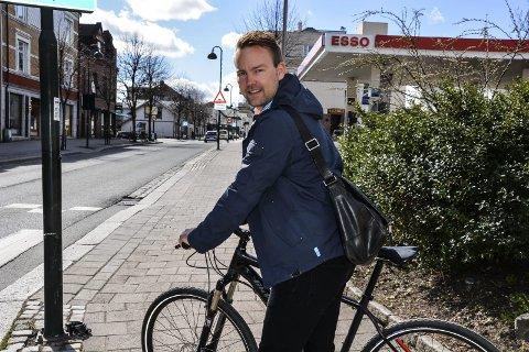 Frittstående: Niklas Cederby fortsetter sitt politiske arbeid som uavhengig.