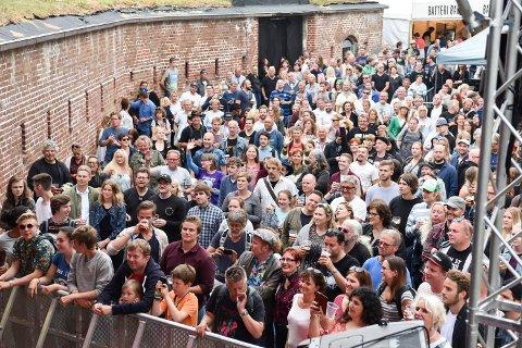Vervensfestivalen var en publikumsmagnet.