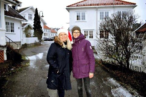 INVITERER: Ingrid Kristine Lund og Marianne Vikse serverer et stort julemarked i Åsgårdstrand lørdag og søndag.