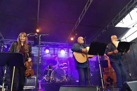PÅ SCENEN: pÅ Vervenfestivalen I 2016 serverte Frosk en konsert til stor jubel fra publikum.