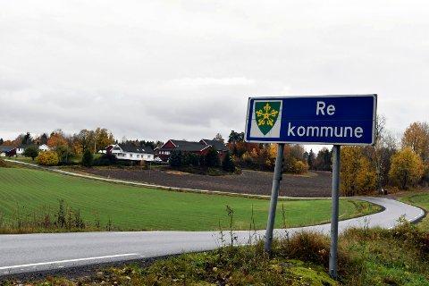 GRENSE: Horten og Re har sendt en felles søknad om å få justere kommunegrensa. Endringene vil gjelde fra 1. januar 2020