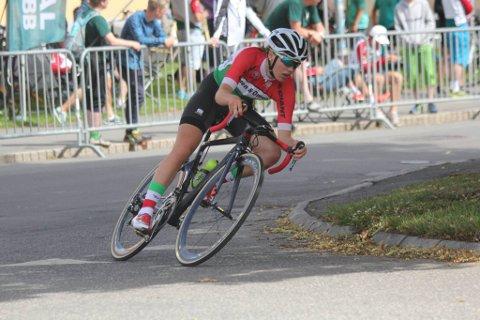 NORGE: Martine Gjøs er tatt ut til å sykle for det norske juniorlandslaget.